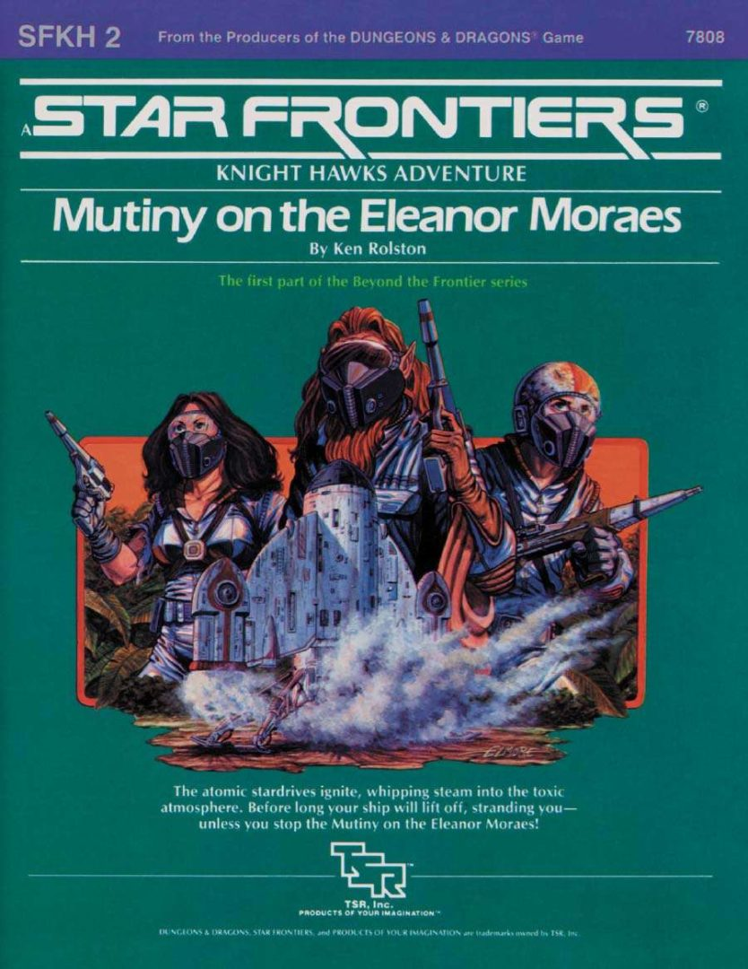 SFKH2 Mutiny on the Eleanor Moraes