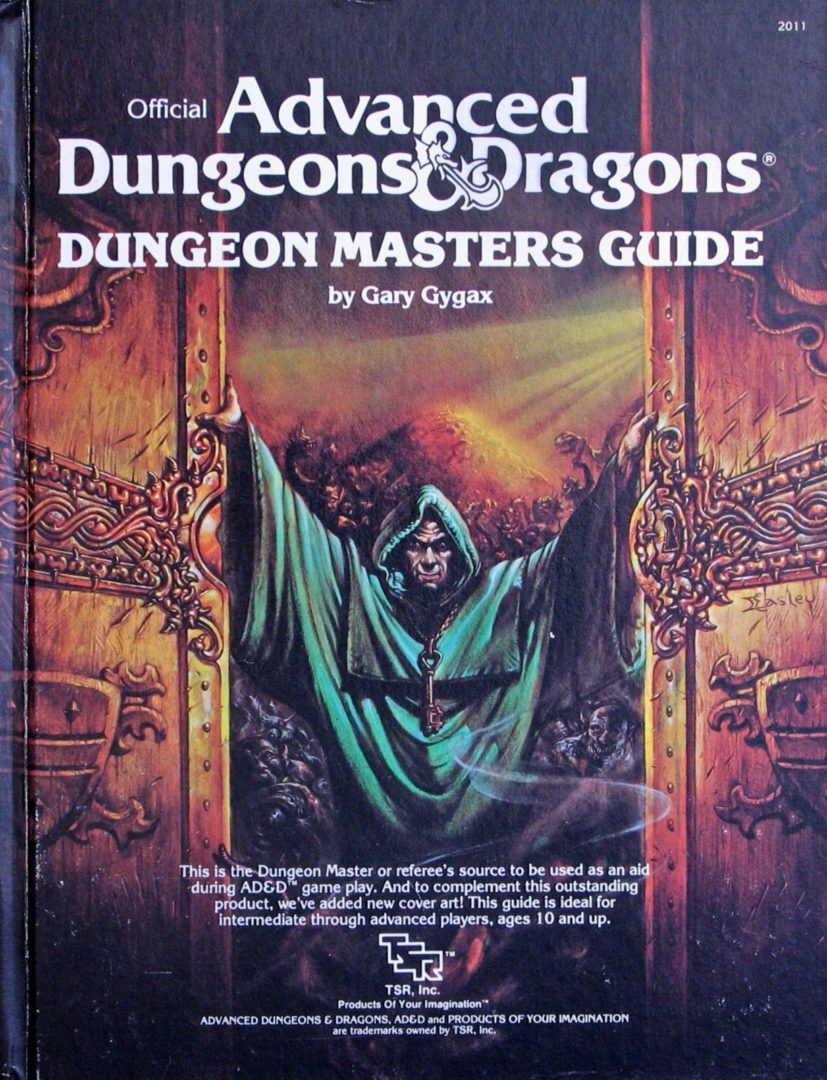 AD&D Dungeonmaster's Guide 1st Ed. 1983