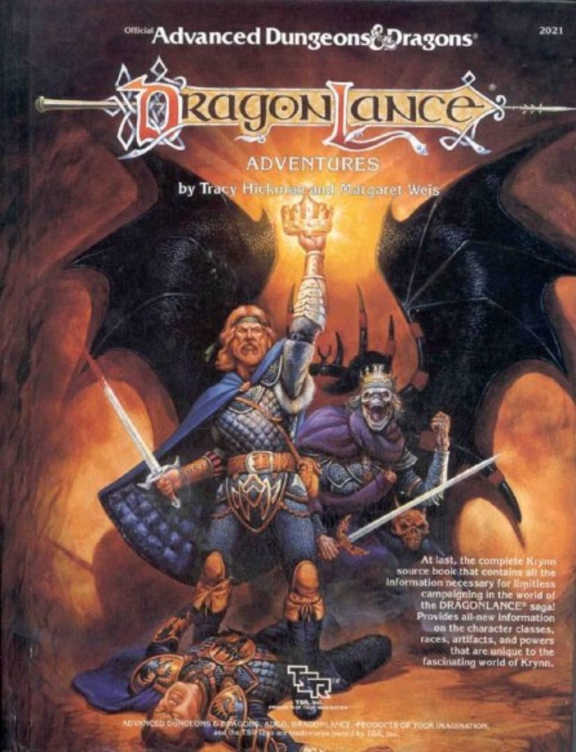 AD&D Dragonlance Adventures 1st Ed.