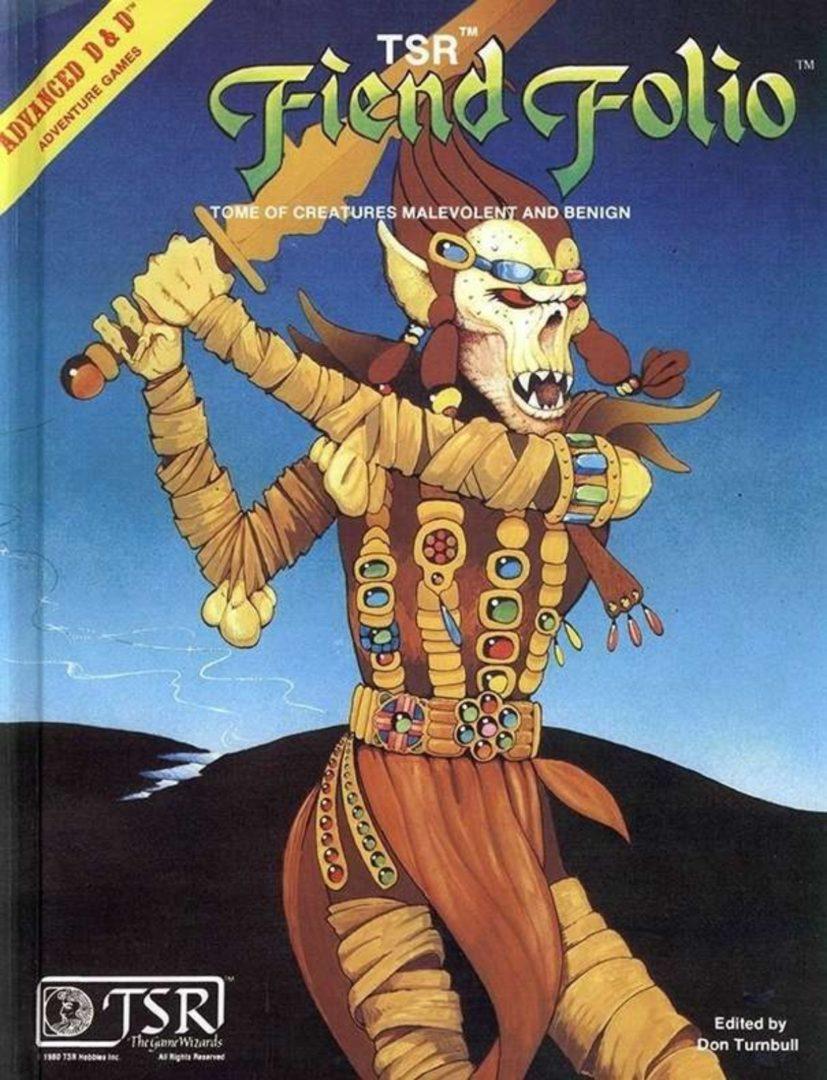 AD&D Fiend Folio 1st Ed.