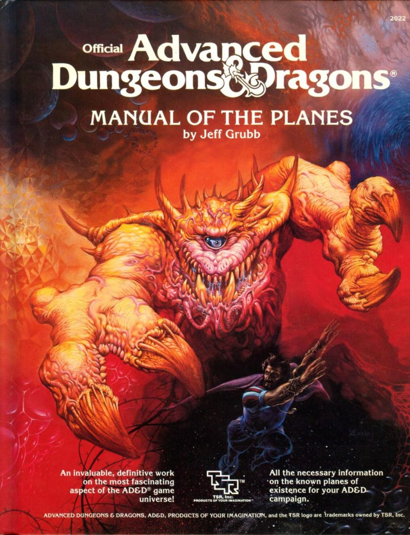 AD&D Manual of the Planes 1st Ed.