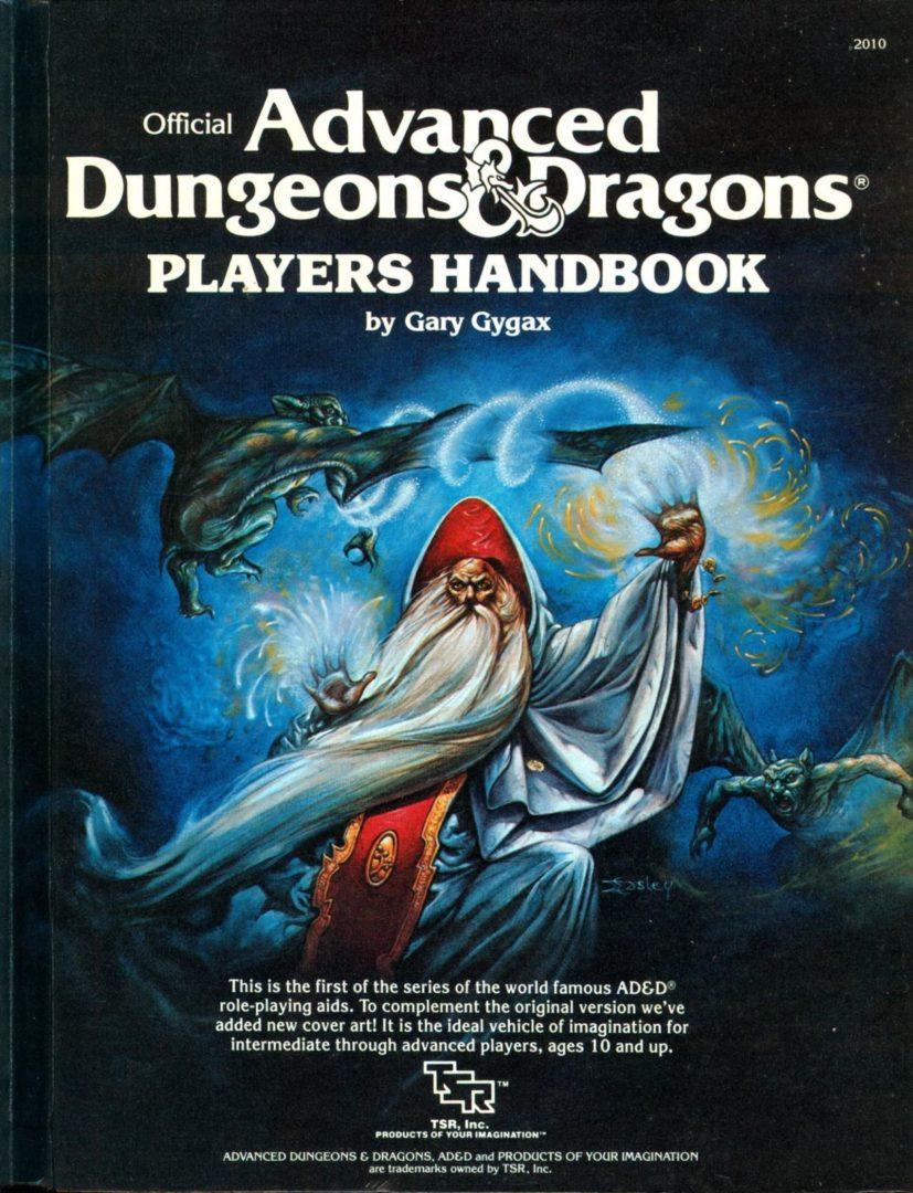 AD&D Player's Handbook 1st Ed. Alt. Cover