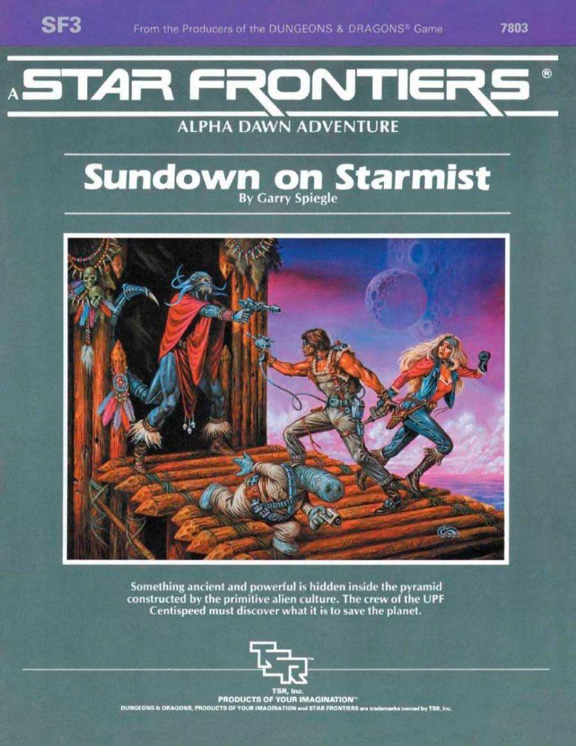 Sundown on Starmist SF3