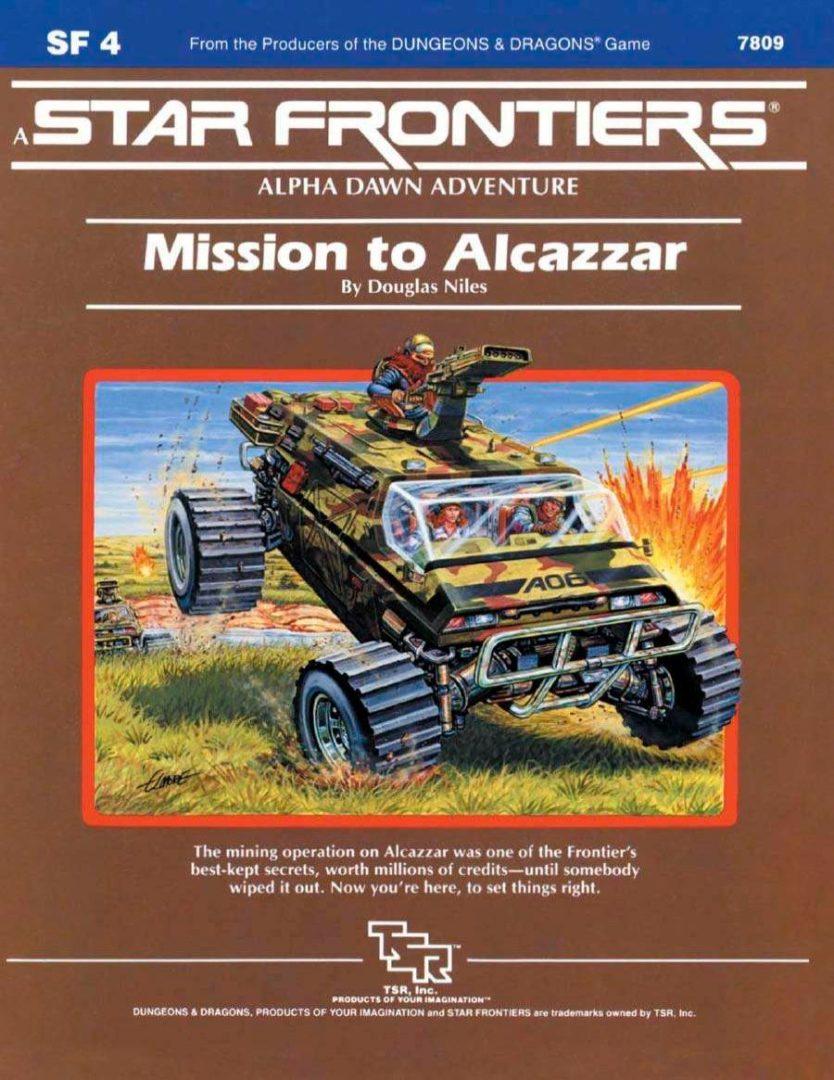 SF4 Mission to Alcazzar