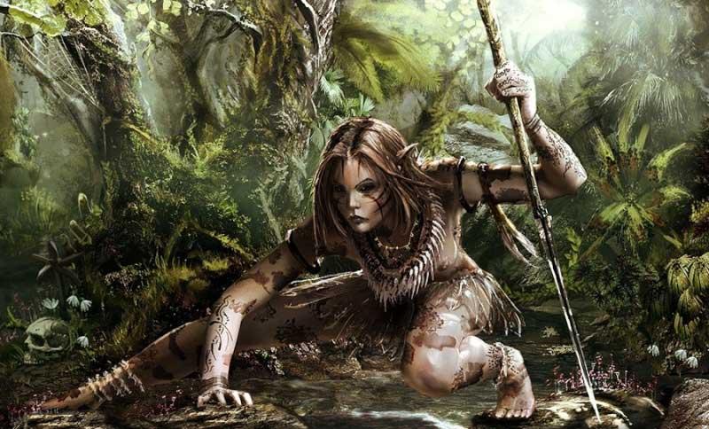 "Forest Elf ""Mortal Online"" (PC Game)"