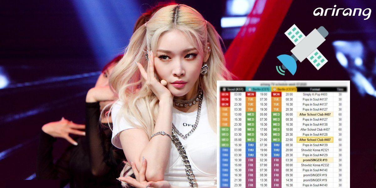 arirang TV Schedule