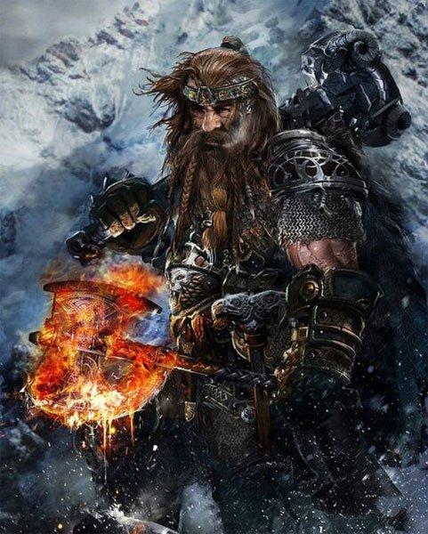 Grimgraff the Giant KIller by uncannyknack