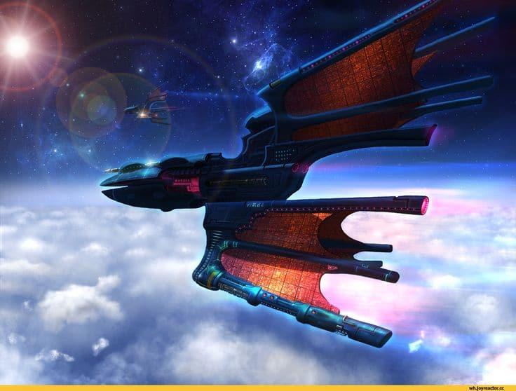 Eldar Ship Warhammer 40.000