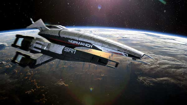 Normandy - sporty luxury racer in space