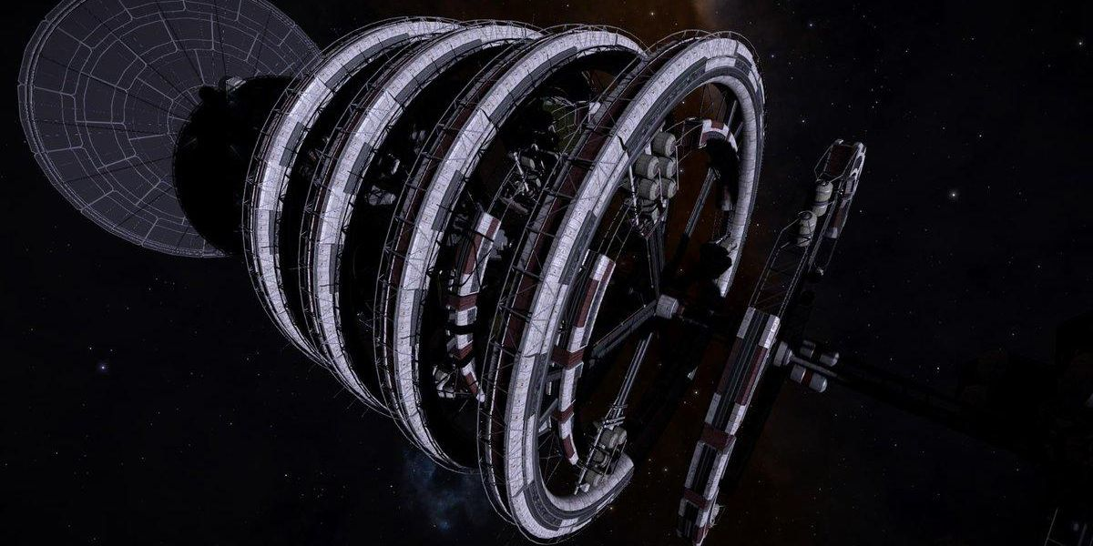 Rotating Habitat Rings